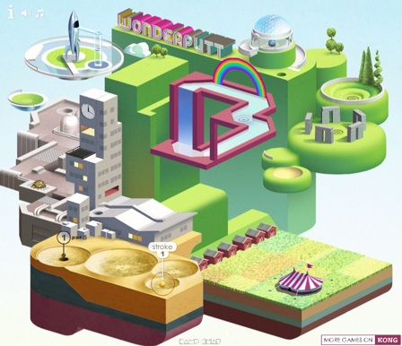 Wonderputt copyright Kongregate.com
