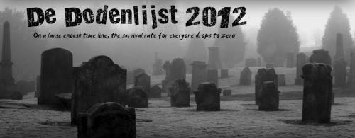 De Dodenlijst 2012